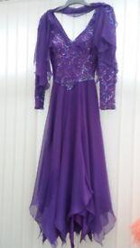EVENING DRESS / DANCE DRESS SIZE 10