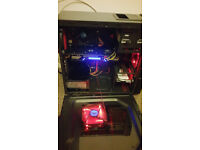 Nice Gaming Pc With 26inch monitor
