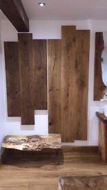 Engineered Oak Flooring Rustic Grade 240mm