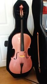 pink cello