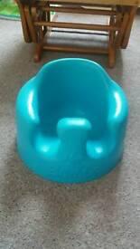 Bumbo chair blue