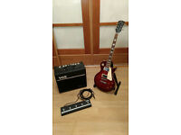 Complete guitar set: Tokai Love Rock, Vox VT20+, Footswitch VFS5 £370