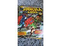 Dracula lives comic book