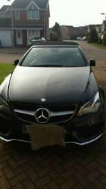 Mercedes AMG sport e class convertible