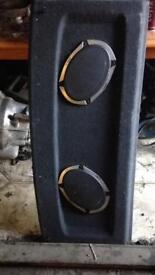 Vibe speakers 6x9 in a vw shelf