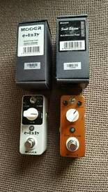 Mooer mini fx pedals