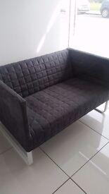 Grey IKEA sofa