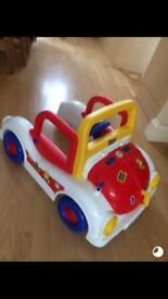 Baby walker/play car