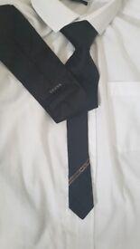 a genuine black gucci tie
