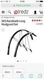 Mudguards sks raceblade long for road bike