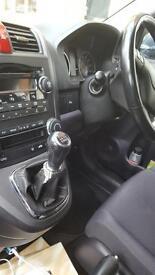 Honda CR-V very clean and cheap to run.