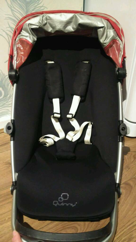 Quinny Buzz Xtra pram, pushchair seat unit