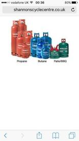 WANTED GAS BOTTLES