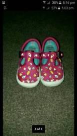 Girls Clarke shoes