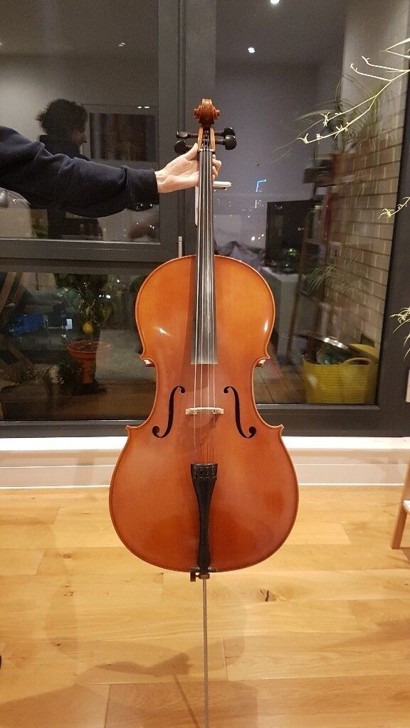 Eastman Cello for sale (full-size). Bows + case also avail. (can sell separately) ideal for students