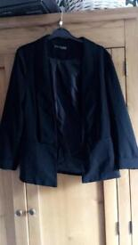 Women's atmosphere black blazer jacket. Size 14