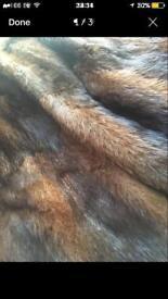 Fur coat (genuine)