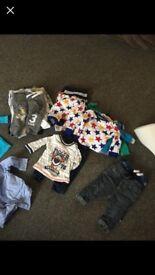 Large bundle clothes