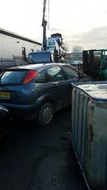 BREAKING Ford Focus, 1.8Di, 2000 reg Vehicle