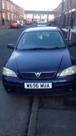 1.6 Astra runs perfect just needs to be taxed and insured good first time car