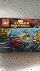 Lego marvel 6865 boxed complete