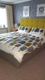 Dunlopillo Adjustable Bed, Wireless remote controls 6ft superking 2x 3ft matresses 1 firm 1 meduim