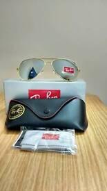 Rayban aviator sunglasses mirror