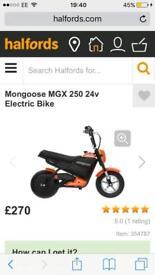Mongoose Electric bike