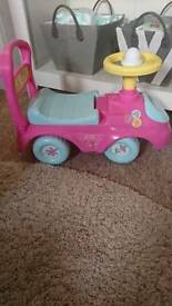 Peppa pig ride on. Brand new
