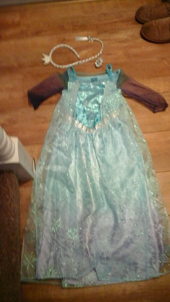 Elsa dress & headband