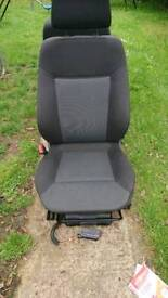 Vauxhall zafira b front seats
