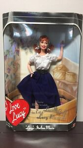 I Love Lucy Barbie Doll
