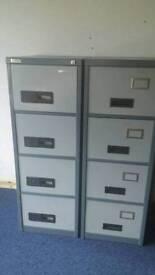 Metal filing cabinet ×2