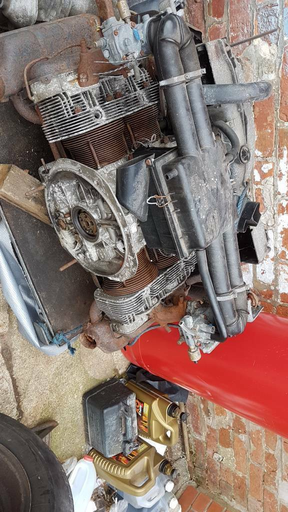 Vw type 4 1700cc engine complete