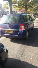 7 seaters Vauxhall Zafira