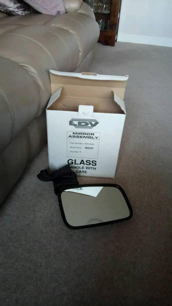 Brand new van mirror
