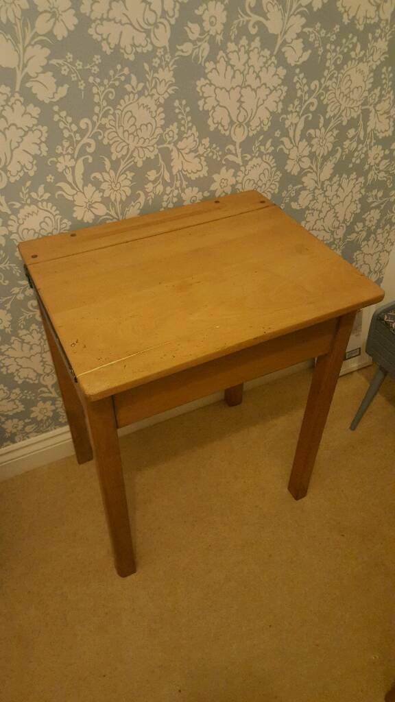 vintage, traditional, old wooden school desk  in Honiton, Devon  Gumtree