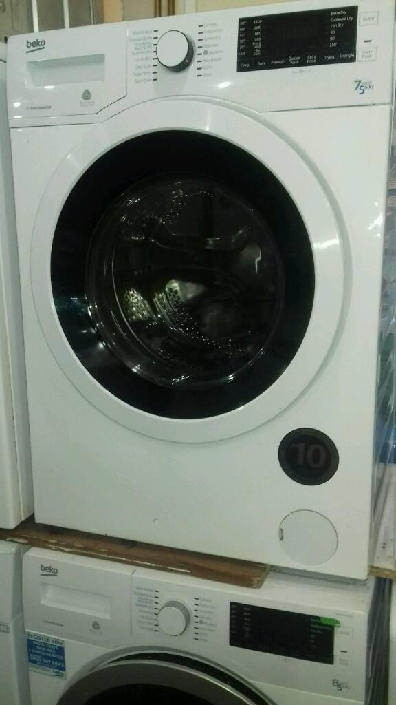washer dryer Beko 7kg new never used offer sale £209