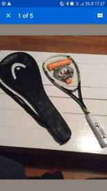 Head squash racket brand new with case