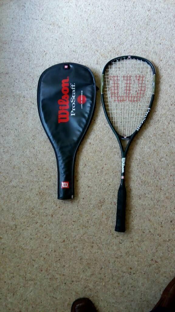 Wilson prostaff squash racket Titanium halo series