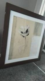 Large framed original mamcoux painting