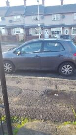 toyota auris late 2007 low miles