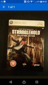 Stranglehold Limited Edition Xbox 360 Game With Metal Box & Instructions