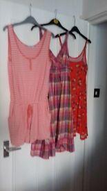 3 summer dresses
