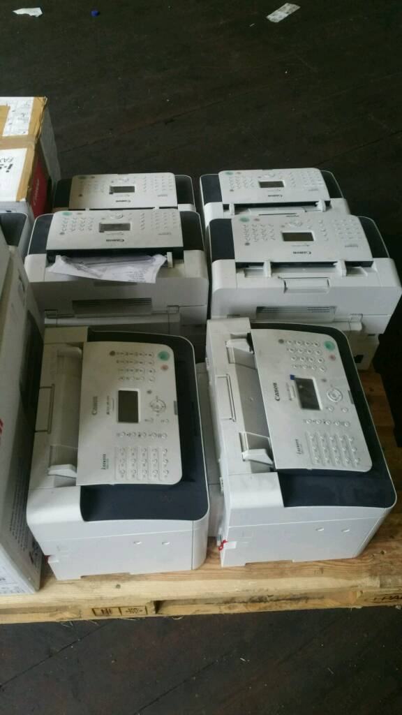 Job lot of printers