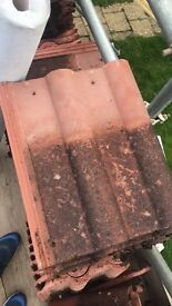 Double roman roof tiles 8 years old