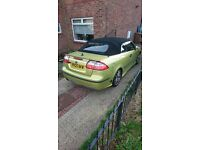 2005 Saab 2.0T Convertable 210bhp with LPG Conversion