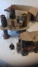 Robin Hood prince of theives. JOBLOT playset & figs