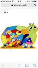 Lamanze Happy Snail Activity Baby Mat