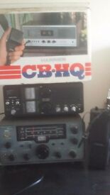 Miscellaneous cb radio equip. Two recievers one transciever one hand held transciever